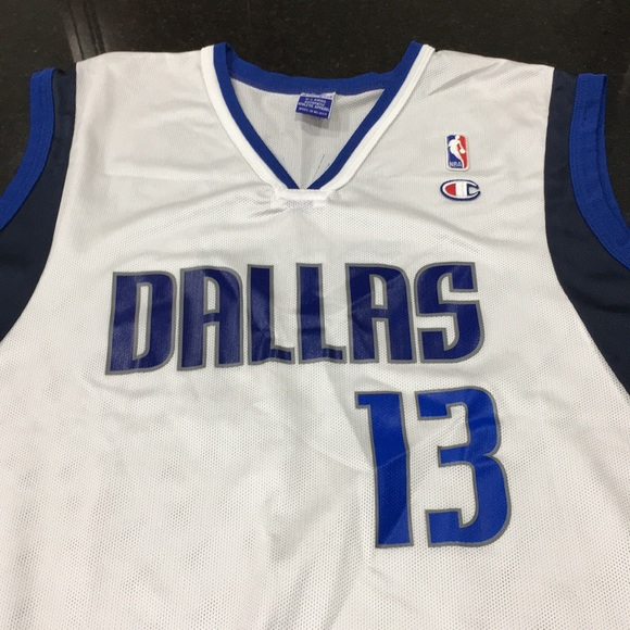 online store 3df30 5fed5 Champion Dallas Mavericks Jersey Steve Nash XL